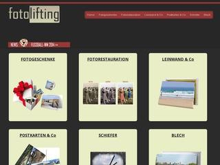 FotoLifting -  Fotogeschenke slebst gestalten