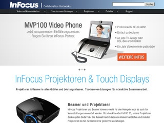 InFocus IN5300a Serie